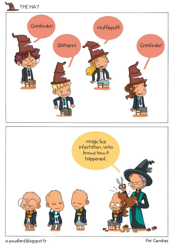 parodie harry potter bd