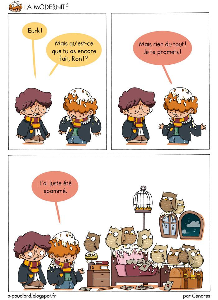 bande dessinee harry potter